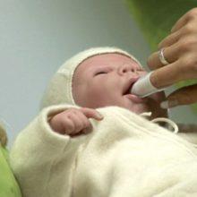 Лечение молочницы ротовой полости у малышей
